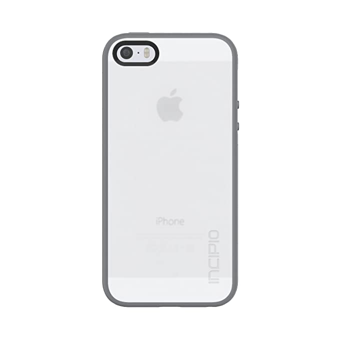 ec2ab36283ad13 Amazon.com: Incipio Octane Case fits iPhone 5, iPhone 5S, and iPhone SE -  Frost / Gray: Cell Phones & Accessories