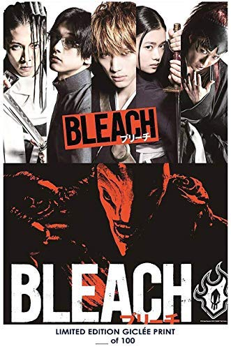 Lost Posters Rare Poster Thick Bleach Live Action Movie 2018 Reprint #'d/100!! 12x18
