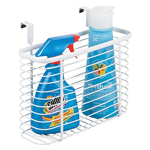 mdesign-over-the-cabinet-laundry-storage-organizer-basket-for-detergent-fabric-softener-cleaning-sup