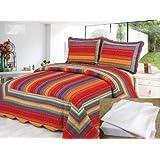 Virginia Island Luxury Quilt Set with Sheet Set