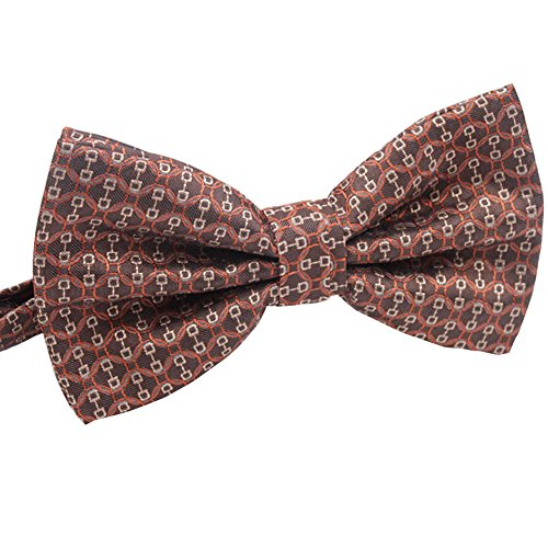 Sunshine-365 Men's Silk Solid Red Necktie (Cummerbund Costume)