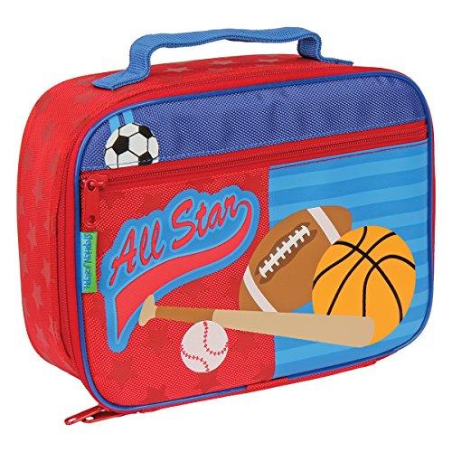 Stephen Joseph Boys Classic Lunch Box, Red Sports
