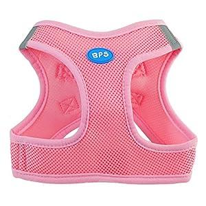 BPS® Arnés para Perros Mascotas Callar para Perros Mascotas 5 Tamaños para Elegir para Perro pequeño Mediano y Grande…