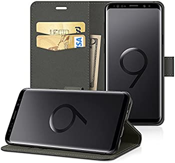 EasyAcc Leather Wallet Case Protector Flip Cover