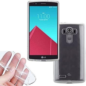 Donkeyphone - Funda Gel Transparente para LG G4 H815 Silicona ...