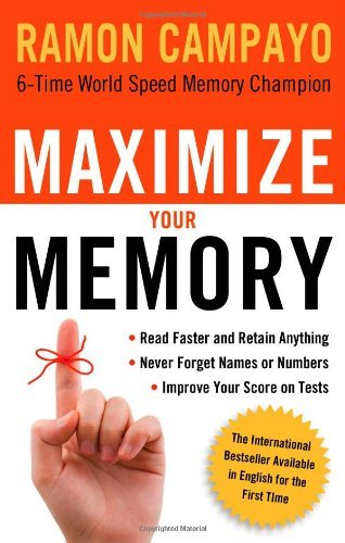 Maximize Your Memory cover