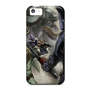 Fashion KPX7924uGBF Cases Covers For Iphone 5c(link Concept The Legend Of Zelda)