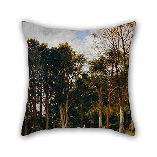 [Oil Painting Brodie, Kate S. - Landscape (Four Figures In A Wood) Cushion Cases 18 X 18 Inches / 45 By 45 Cm Best Choice For Family,deck Chair,girls,wedding,floor,bedroom With Two] (80s Rock N Roll Costumes)