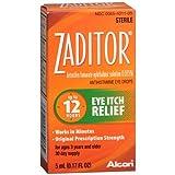 Zaditor Antihistamine Eye Drops 0.17 fl oz (5 ml) Pack of 3