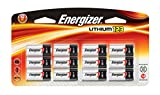 Energizer Photo Battery, Cell Size, 123, 12-Count