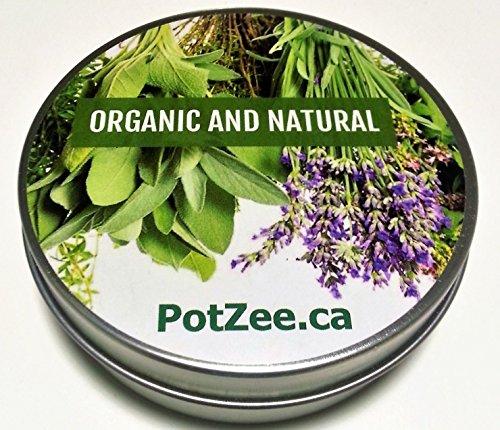Rose Petal Organic Herbal Smoking Blend, Smoking Mix, Herbal Mixtures, 100% Natural, Nicotine Free, Tobacco Alternative, Premium Smoking Herbs - 1oz Tin