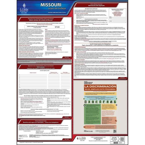- Missouri & Federal Labor Law Posters - State Only Poster (Spanish)