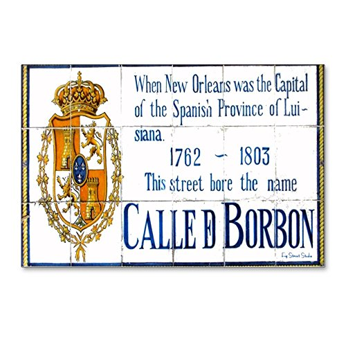 - CafePress - Rue Bourbon Tiles - Postcards (Package of 8), 6