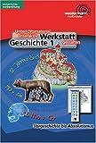 Werkstatt Geschichte - Band 1. CD-ROM für Windows 95/98/2000/NT. Klassen 5-10.