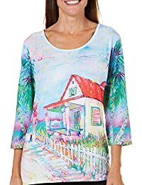 Womens Our House Scenic Top
