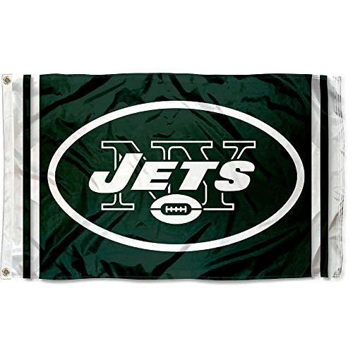 WinCraft NFL New York Jets Flag, 3 x 5-Feet