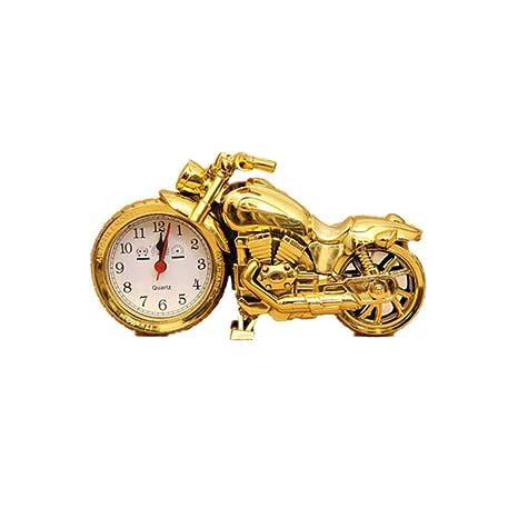 Reloj DE Alarma Motocicleta Motocicleta Clásica Reloj de ...