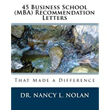 45 Business School (MBA) Recommendation Letters That Made a Difference
