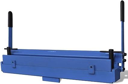 Piegatrice Lamiera Manuale 630mm Ghisa per Metalli Piegatubi Piega Tubi