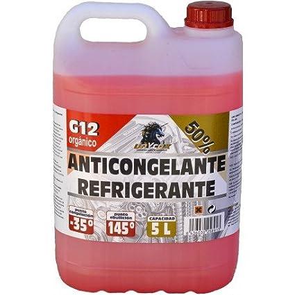 Anticongelante 50% G12 Orgánico 5L UNYCOX