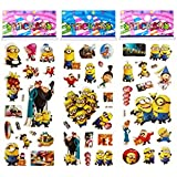 3 Sheets Puffy Dimensional Scrapbooking Party Stickers-FREE USA SHIPPING - DESPICABLE ME MINIONS
