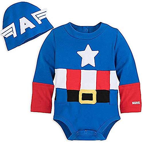 Disney Marvel Captain America Costume Bodysuit for Baby (9-12 Months)