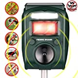 Best Animal Repellers - Fierre Shann Ultrasonic Animal Repeller Solar Powered Waterproof Review