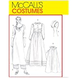 McCall's Patterns M4548 Misses' Early American Costume, Size EE (14-16-18-20)