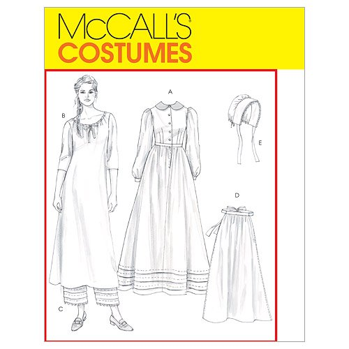 2004 Bonnet (McCall's Patterns M4548 Misses' Early American Costume, Size EE (14-16-18-20))