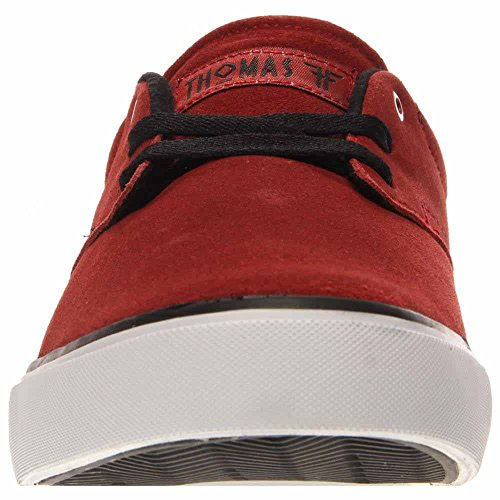 Geist-Skate-Schuh der gefallenen Männer Blut rot / weiß