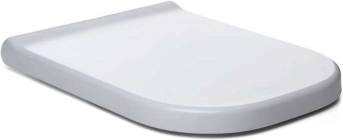 WC-siège siège de toilettes SOFT-CLOSE Abaissement toilettes lunettes abattant abattant blanc uni