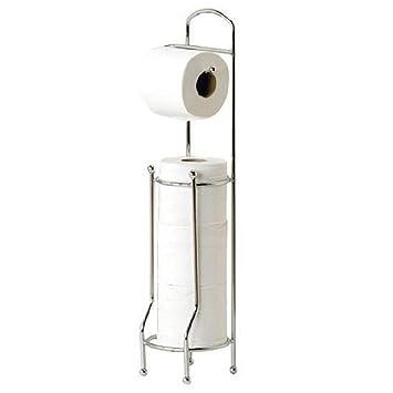 69 X 16,5 X 16,5 Attraktiv Athena U2013 Marmor Chrom Freistehender  Toilettenpapierhalter Ersatz Papier Lagerung Von Showerdrape Freistehender  ...