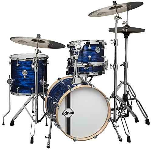 ddrum SE FLYER BP Speakeasy Flyer 4-Piece Bop Kit, Blue Pearl (Ddrum Sets Bass Drum)