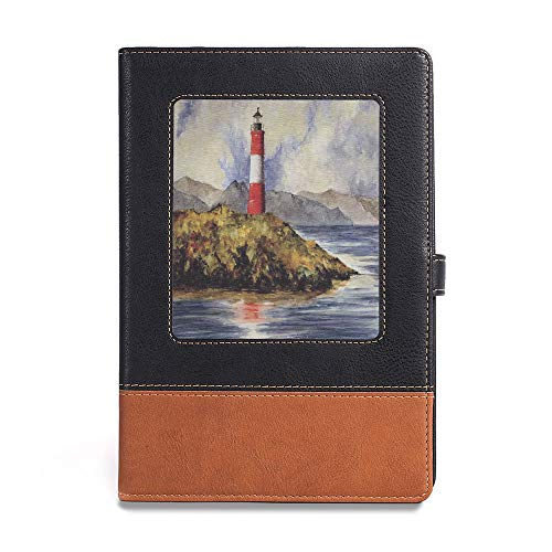 Planner NoteBook,Lighthouse Decor,A5(6.1