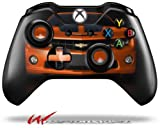 Cheap 2010 Chevy Camaro Orange – Black Stripes on Black – Decal Style Skin fits Microsoft XBOX One Wireless Controller (CONTROLLER NOT INCLUDED)