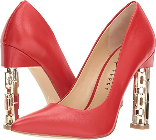 Katy Perry Womens The Suzanne Pump Spaans Rood Nappa