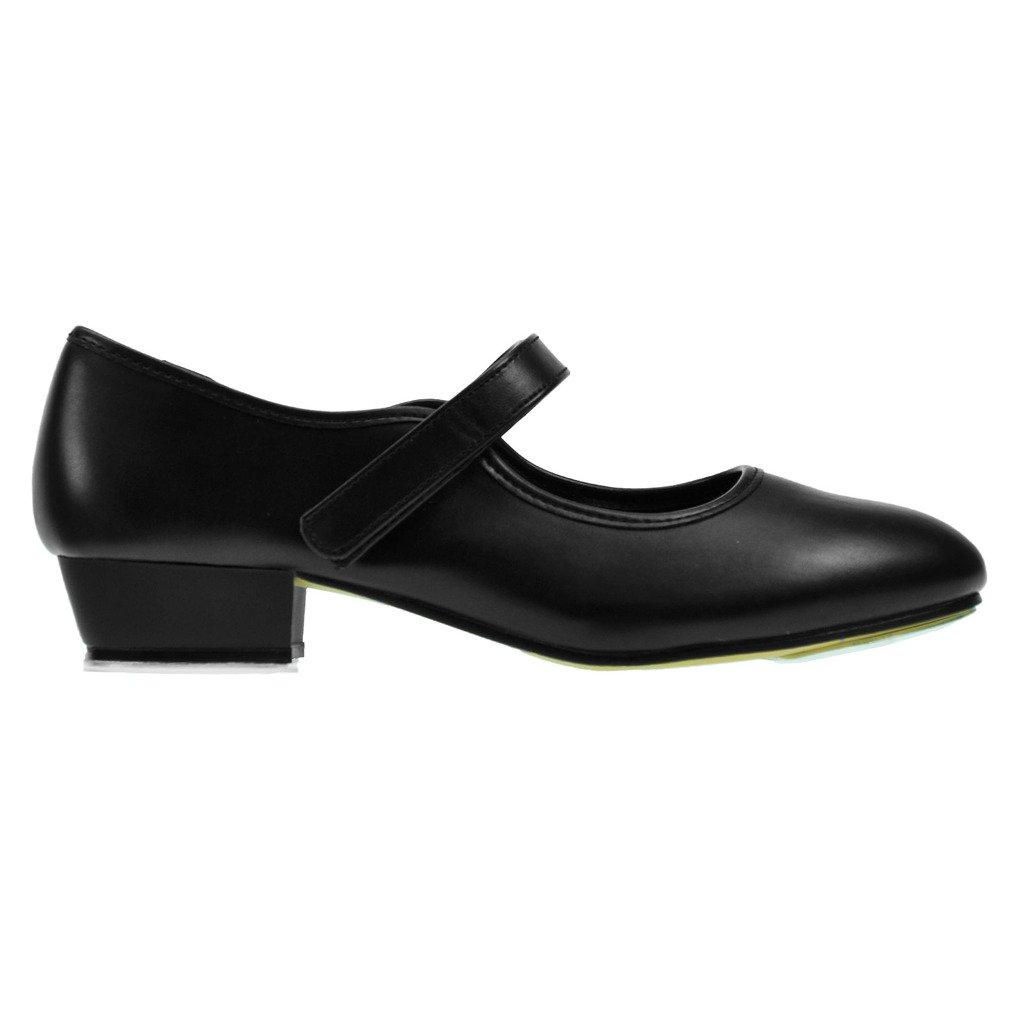 Starlite Backflip Weiß PU Klettverschluss Tap Schuhe 3 L bPgCXOHBwC