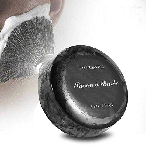 Crema de Jabón de Afeitar Natural Hecha A Mano Espuma Hidratante Peluquería Salon Afeitado Accesorios Cuidado Facial de Los...