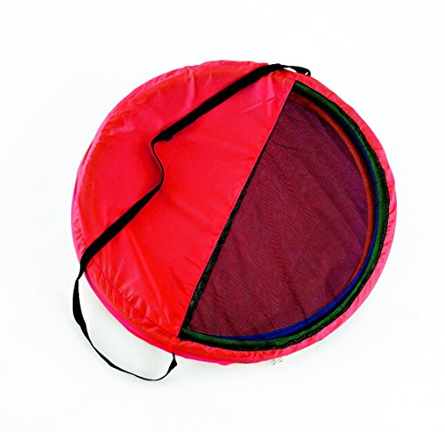 Sportime Hula Hoop Tote-N-Store Bag, Red, 24 Inches