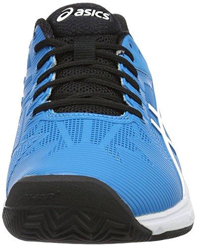 Homme Speed Jewel 3 Gel Asics De Chaussures white Bleu blue solution Tennis black Clay q8wEpwPx