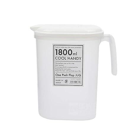 Jarra para nevera de 1800 ml, jarra para cóctel, agua fría, té ...