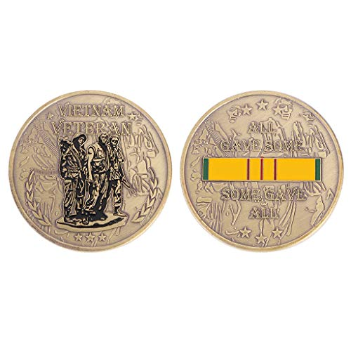 - Vietnam War Veteran Challenge Coin Collection Arts Souvenir Gifts by HittecH