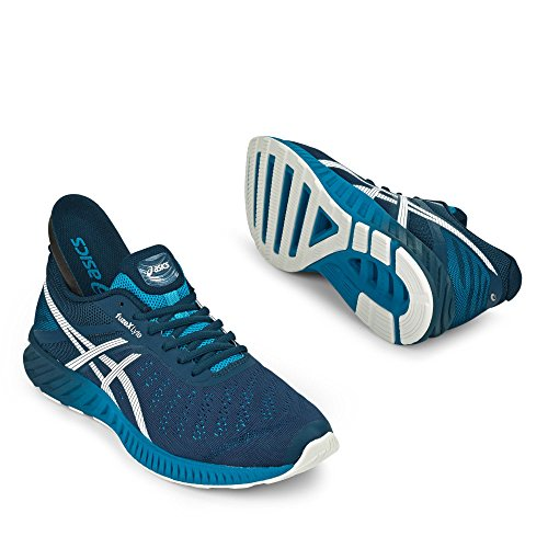 asics fuzeX Lyte Hombres zapatilla de deporte azul T620N 5101 asics fuzeX Lyte Hombres zapatilla de deporte azul T620N 5101