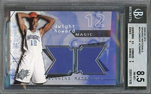 graded card 10 9 9.5 9.5 2004-05 bowman #129 DWIGHT HOWARD rookie card BGS 9.5