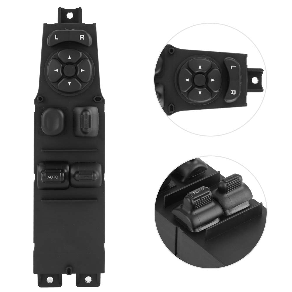 Paint, Body & Trim Interior Terisass Power Window Switch 56009450AC Car Front Driver Side Power Master Window Control Switch 68171682AA for Jeep Cherokee 2-Door 1997 1998 1999 2000 2001