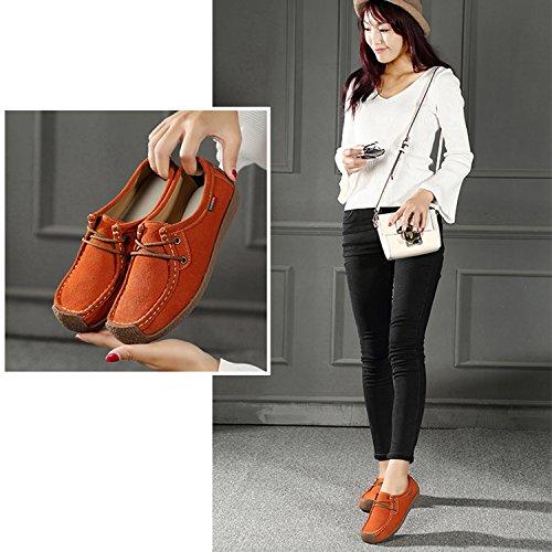 Sandales EU Femme Compensées Orange Nomioce 5 Orange 36 Sn0PqRgwd