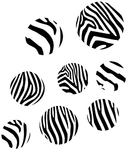 Wall Décor Plus More WDPM020  Black Zebra Print Large for sale  Delivered anywhere in USA