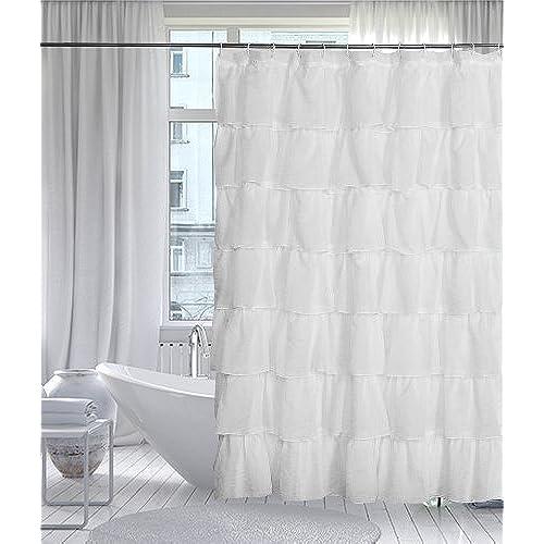 Farmhouse Style Shower Curtains