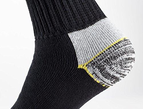 Cotton Prime Lot de 6 paires de chaussettes homme pour le travail et les loisirs - chaussettes de travail robustes 2