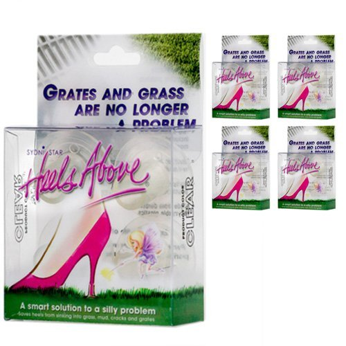 Boxes Heels Above Protectors Clear